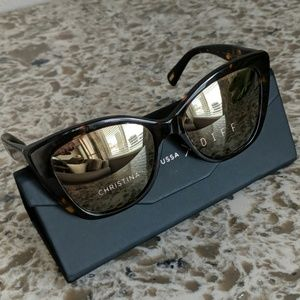 Christina El Moussa X Diff Sunglasses